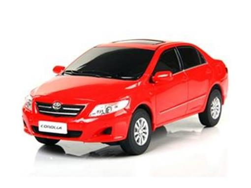 Toyota: Corolla - Vermelho - Controle Remoto - 1:24