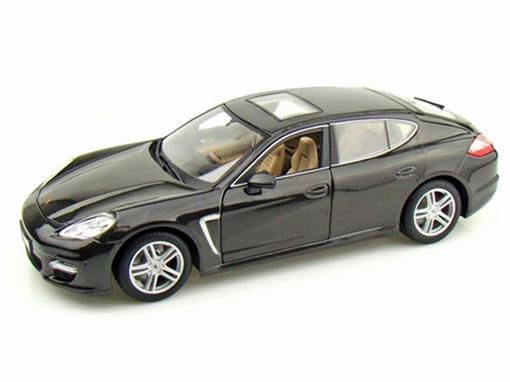 Porsche: Panamera Turbo  - Cinza Escuro - 1:18