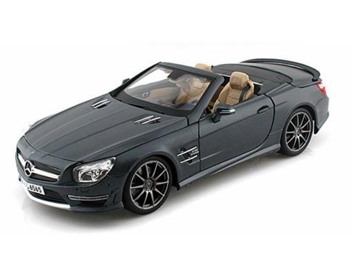 Mercedes Benz: SL 65 AMG 45th Annivers. - (2012) - Cinza - 1:18 - Maisto