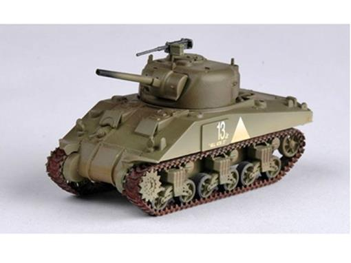 US Army: M4 Middle Tank - 6th Armored Div. - 1:72