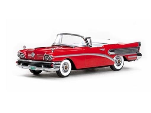 Buick: Special (1958) Conversível - Vermelho - 1:43