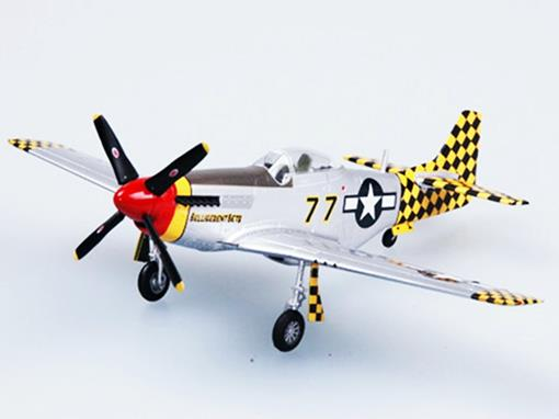North American: P-51D Mustang IV (Italy, 1945) - 1:72 - Easy Model