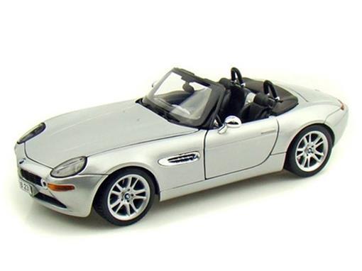 BMW: Z8 - Prata - 1:18
