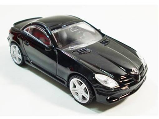 Mercedes Benz: SLK55 AMG - Preta - 1:43
