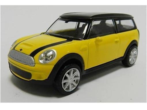Mini Cooper: Mini Clubman - Amarelo - 1:43