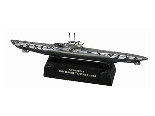 German Army: Submarino DKM U-Boat Type VII C (1944) - 1:700
