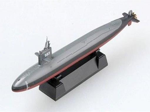 JMSDF: Submarino Harushio Class - 1:700
