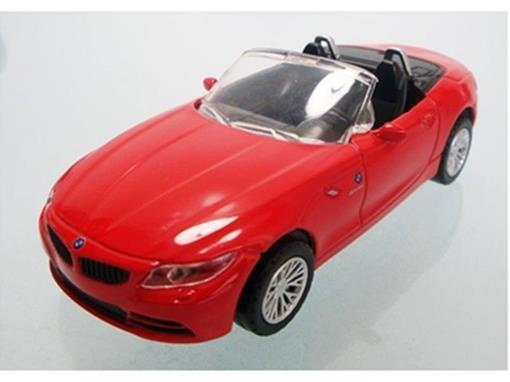 BMW: Z4 - Vermelha - 1:43