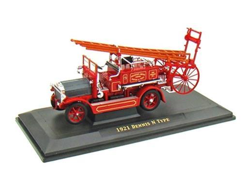 Dennis: N Type (1921) - Corpo de Bombeiros - 1:43