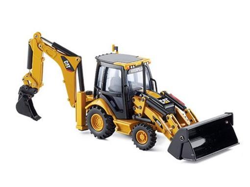 Caterpillar: Retro Escavadeira 432E com Acessórios - 1:50