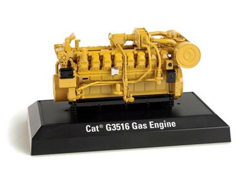 Caterpillar: Motor Gerador G3516 Gas Engine - 1:25