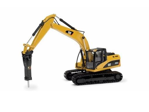 Caterpillar: Escavadeira Hid. 323D L c/ Perfurador H120E - 1:50