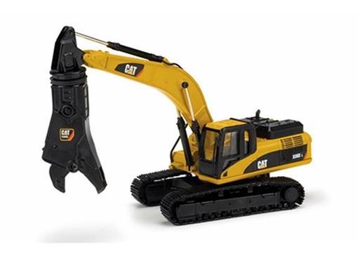 Caterpillar: Escavadeira Hidráulica 336D L c/ Amassador - 1:50