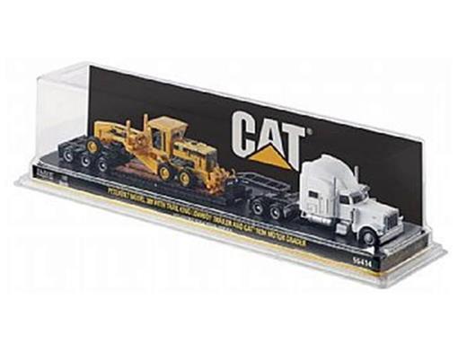 Peterbilt: 389 Prancha com Motoniveladora Cat - HO