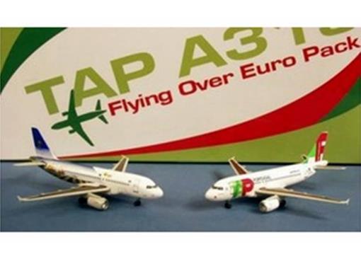 Tap Portugal: Airbus A319 CS-TTA & CS-TTJ (Twin Pack) - 1:400
