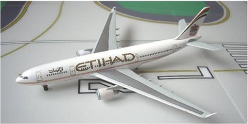 Etihad: Airbus A330-200 - Dragon - 1:400