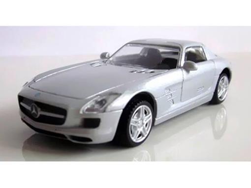 Mercedes Benz: SLS AMG - Prata - 1:43