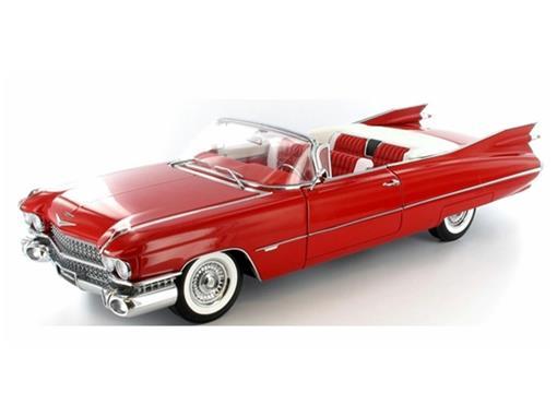 Cadillac: Eldorado (1959) Series 62 - Vermelho - 1:18