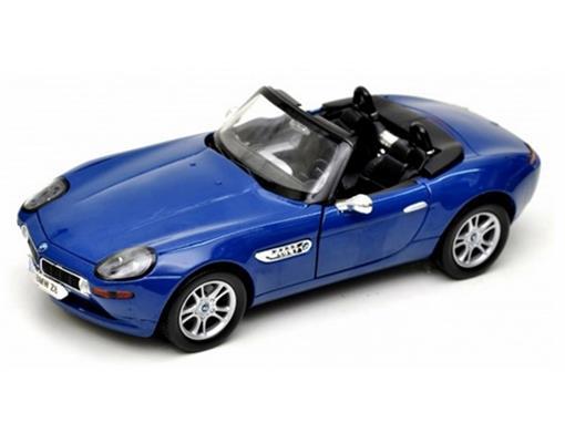 BMW: Z8 Roadster (2001) Azul - 1:18 - Motor Max