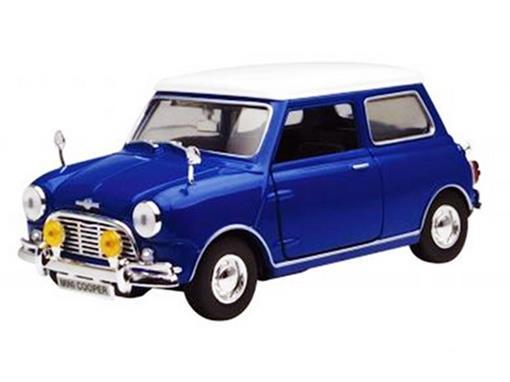 Mini Cooper: Azul - 1:18