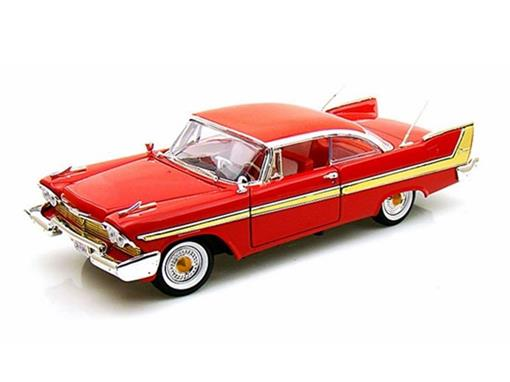 Plymouth: Fury (1958) - Vermelho - 1:18