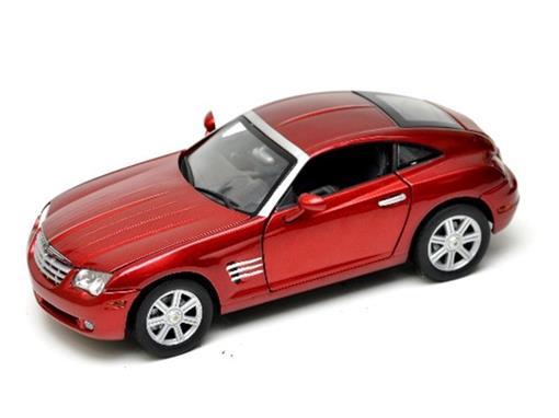 Chrysler: Crossfire (2003) Vermelho - 1:18 - Motor Max