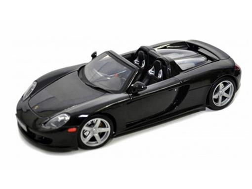 Porsche: Carrera GT - Preto - 1:18 - Motor Max