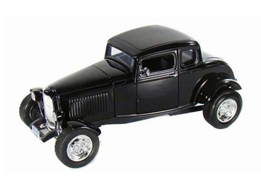 Ford: Five-Window Coupe (1932) - Preto - 1:18 - Motor Max