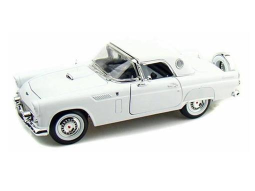 Ford: Thunderbird (1956) - Branco - 1:18