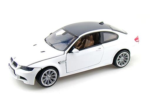 BMW: M3 Coupe - Branca - 1:18
