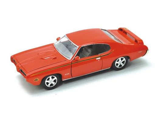 Pontiac: GTO Judge (1969) - Vermelho - 1:24