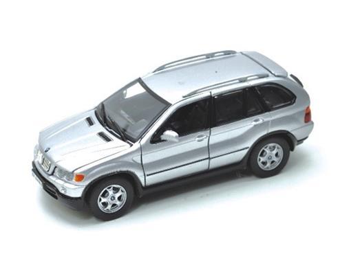 BMW: X5 - Prata - 1:24