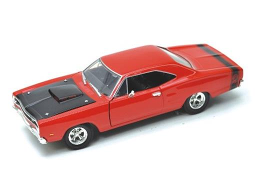 Dodge: Coronet Super Bee (1969) - Vermelho - 1:24
