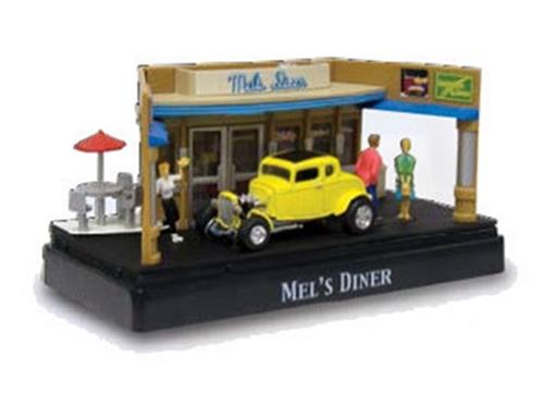 Diorama: Ford Coupe (1932) - Mels Diner - 1:64