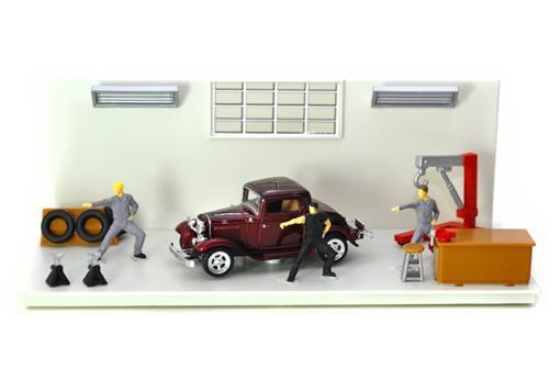 Diorama: Ford Coupe (1932) - Dream Car - 1:43