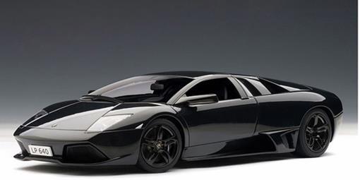 Lamborghini: Murcielago LP640 - Preta - 1:18