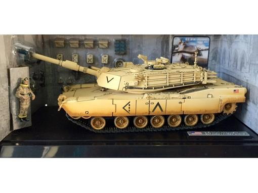 US Army: M1A1 Abrams - (Kuwait, 1991) - 1:32 - Forces of Valor