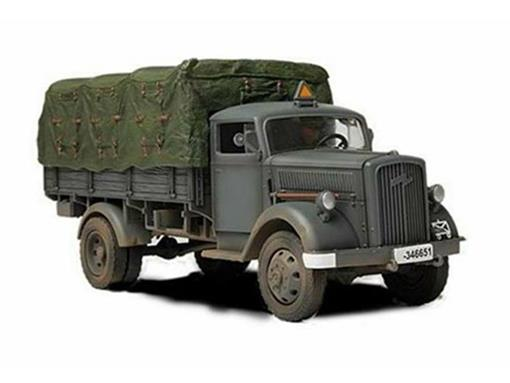 German Army: 3 Ton Cargo Truck (Eastern Front, 1941) - 1:32