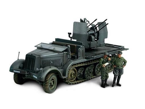 German Army: SD Kfz 7/1 Half Track- 1:32
