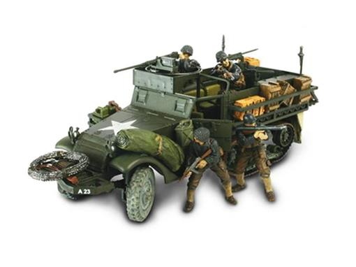 US Army: M3A1 Half-Track - (Normandy, 1944) - 1:32