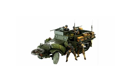 US Army: M3A1 Half Track (Normandy 1944) - 1:32 - Forces of Valor