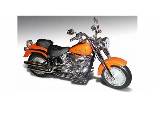 Harley Davidson: FLSTF Fat Boy (2012) - Laranja - 1:12