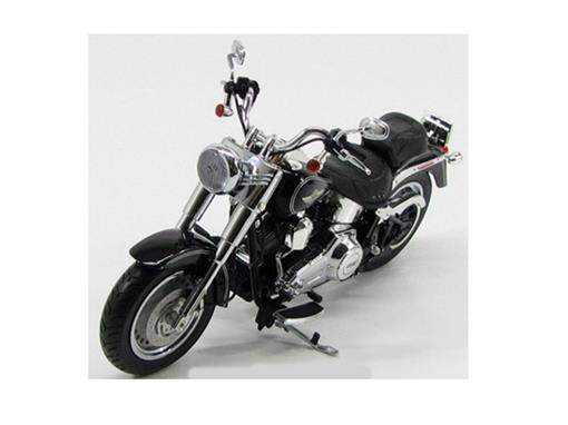 Harley Davidson: FLSTF Fat Boy (2012) - Preta - 1:12