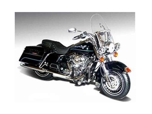 Harley Davidson: FLHR Road King (2012) - Preta - 1:12