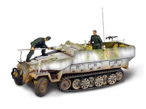 German Army: Sd. Kfz 251/9 Kanonenwagen - (Hungary, 1945) - 1:32