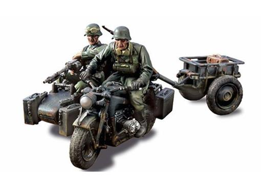 German Army: Zundapp KS 750 c/ Side Car (Eastern F, 1943) - 1:32