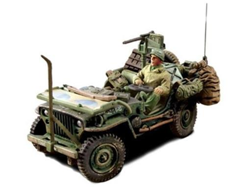 US Army: Willys Jeep (France, 1944) - 1:32