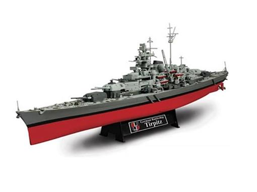 German Army: Battleship Tirpitz - (Normandy, 1944) - 1:700