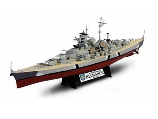 German Army: Battleship Bismarck - (Norway, 1941) - 1:1000