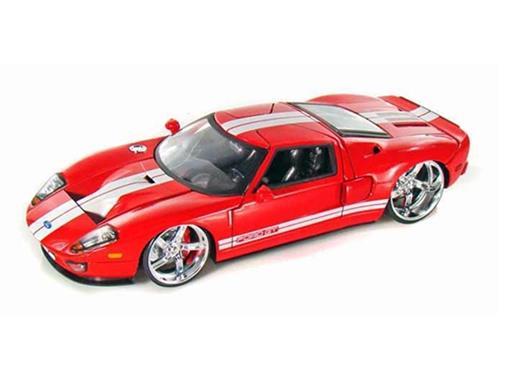 Ford: GT (2005) - Vermelho - 1:24